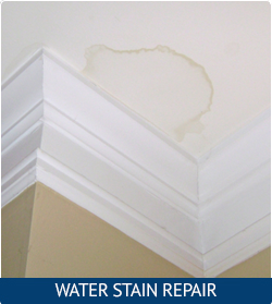 Residential Restorations Painting water stain